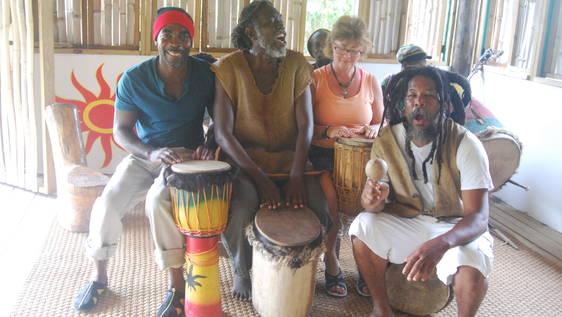 Rastafarian Village Supporter