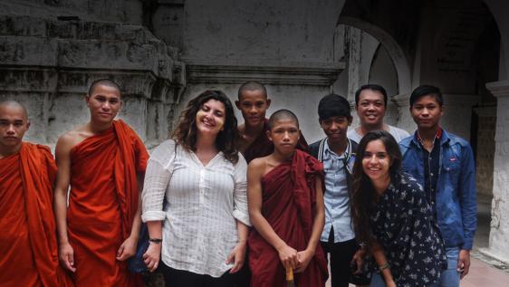Buddhist Monastery School Teaching
