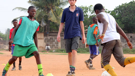 Football Coach in Ghana